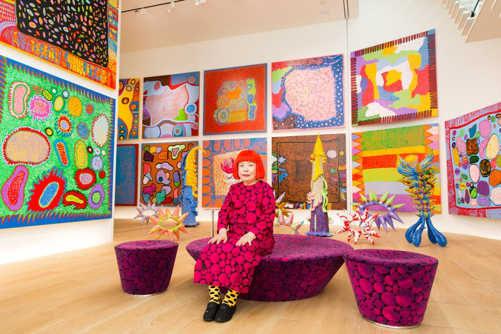 Yayoi Kusama And Her Obsession With Polka Dots