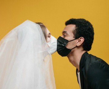 wedding face mask