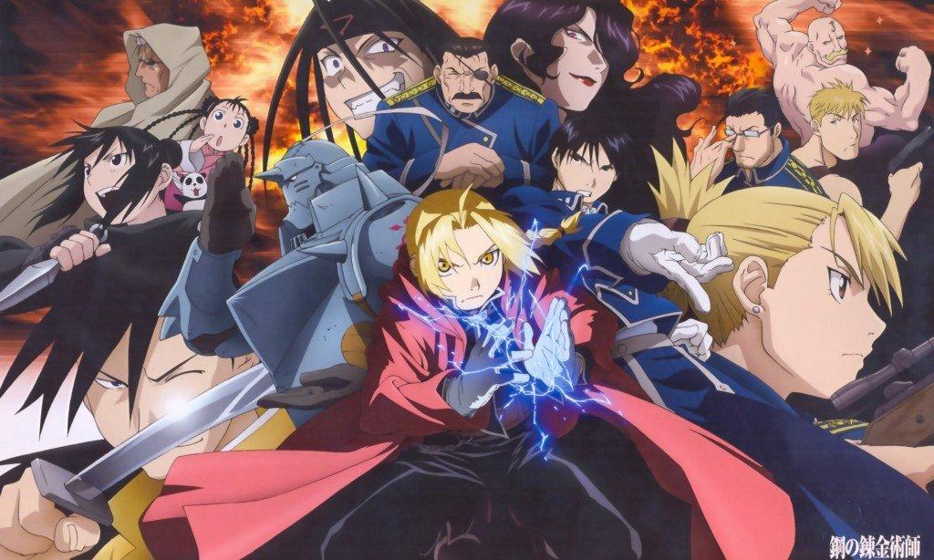 Fullmetal Alchemist-Brotherhood - Japanese manga