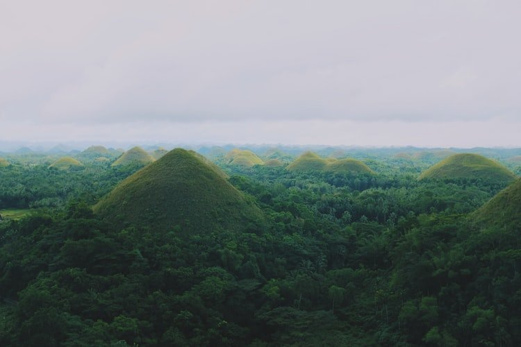 Philippines Has Chocolate Hills And No, You Can't Eat Them!