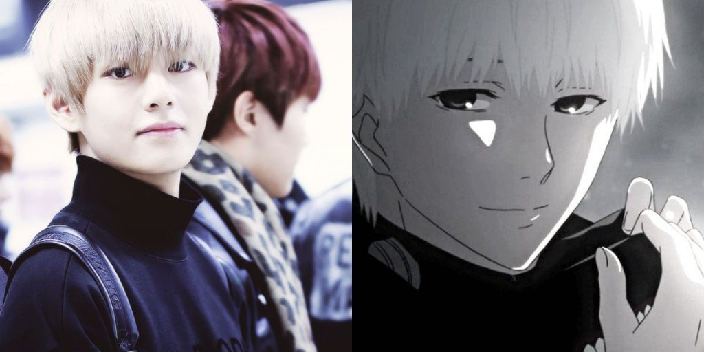 K-Pop Stars And Anime Characters That Look Alike