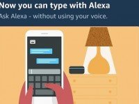 Control Alexa From iPhone By Simply Typing The Request : Alexa As A Chatbot