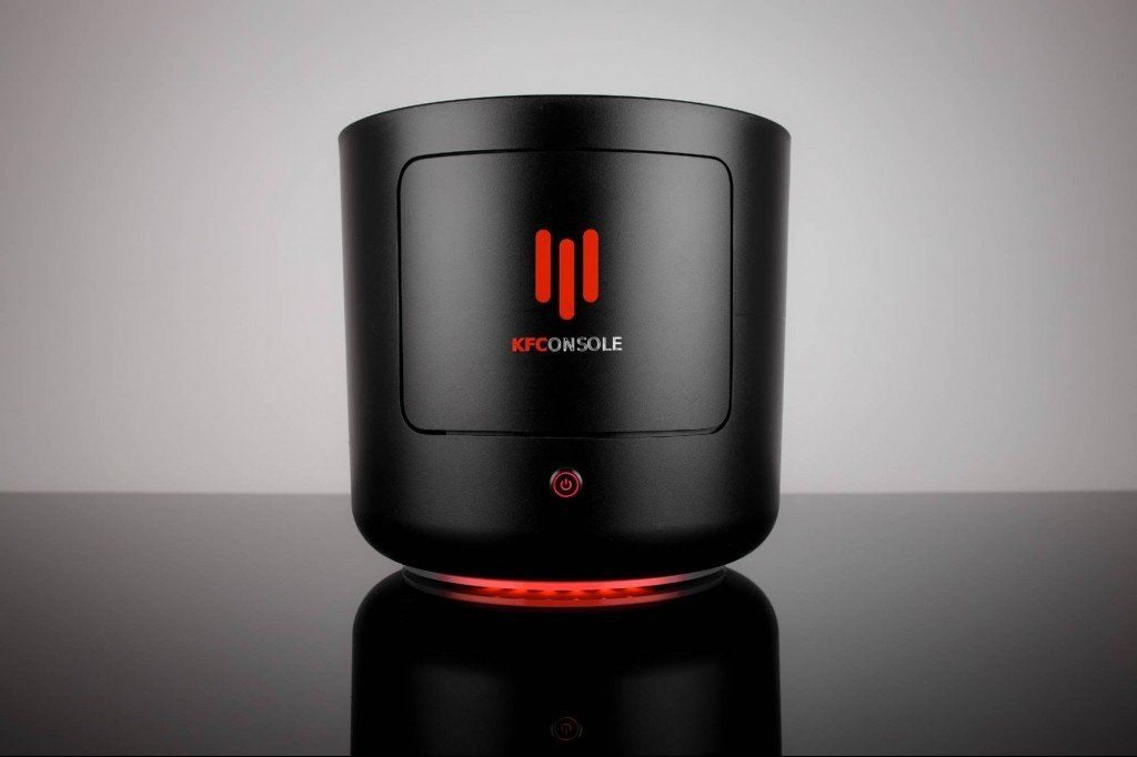 KFConsole : The Gaming Console That Will Keep Your Chicken Wings Hot!