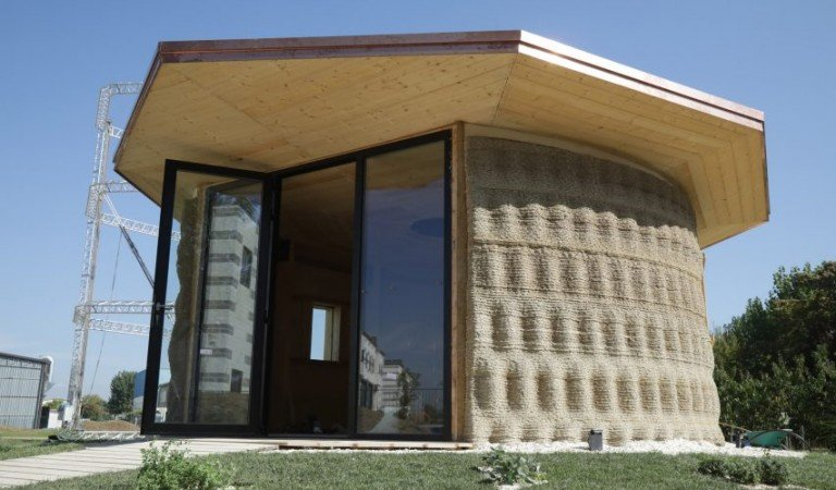 Are You Ready To Live In A Eco-Sustainable 3D Printed House?