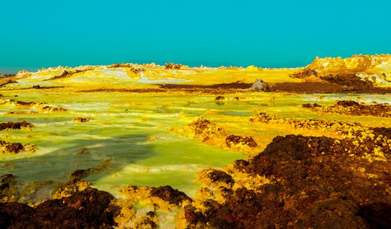 Danakil Depression: A Place Full Of Acid Pools!