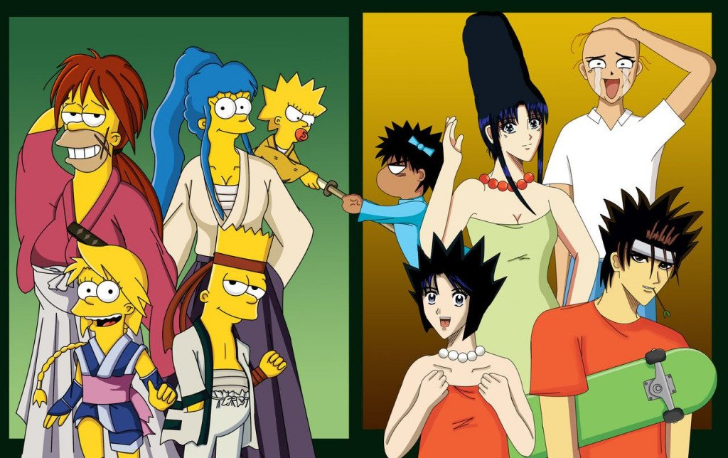 Simpsons As An Anime Anyone?