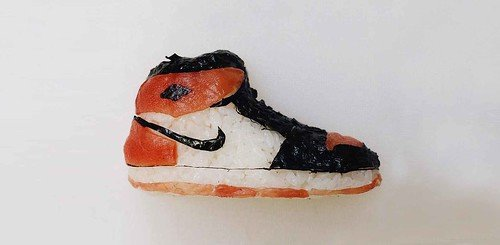 Sushi Just Got Turned Into Nike And Gucci, Thanks To This Talented Sushi-Artist!