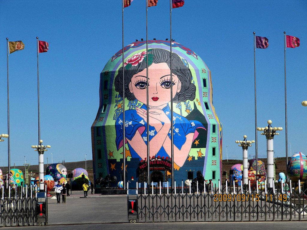matryoshka shaped hotel