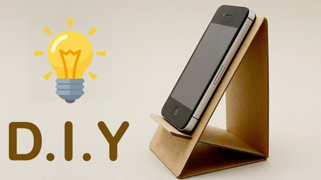 homemade mobile stand:DIY Mobile Stands That You Must Try at Home!