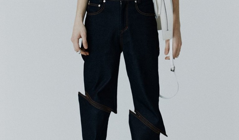 After Acid-washed And Distressed, Welcome The New Katana 'Slash' Cut Jeans!