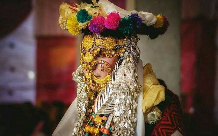 This Traditional Head Jewellery Worn By Kannauri Brides Is The Most Unique In the World