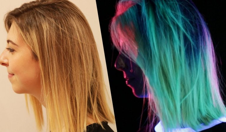 These Glow-In-The-Dark Hair Colors Have A Bright Future (Literally)!