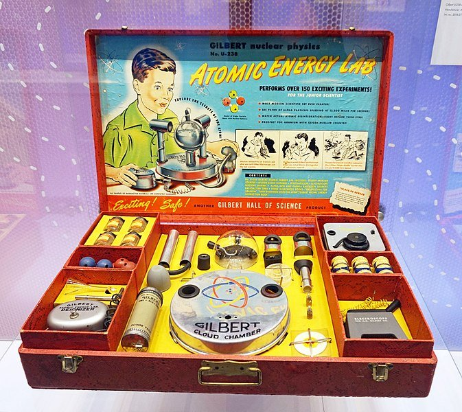 A Lab Kit For Kids Filled With Radioactive Material – What Could Go Wrong?
