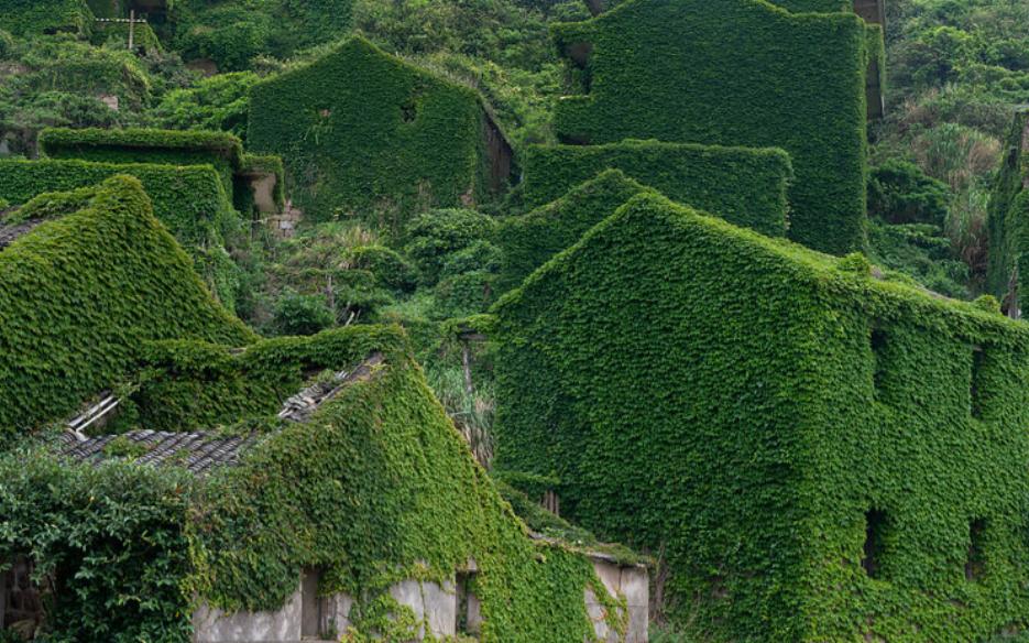 Houtouwan: The Overgrown Ghost Village!