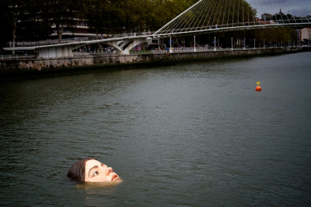 Have You Seen The Drowning Girl Statue From Spain?